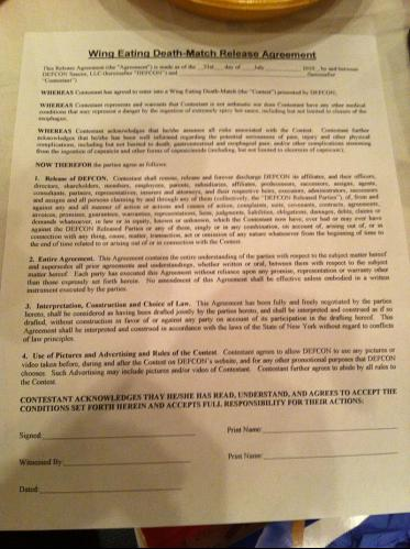 The official Deathmatch Waiver.