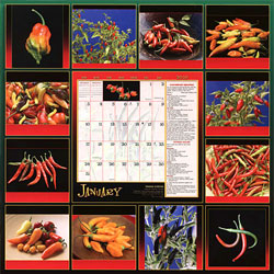 2010 Chile Peppers Calendar