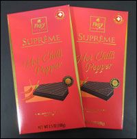 Frey Supreme Hot Chilli Pepper Dark Chocolate