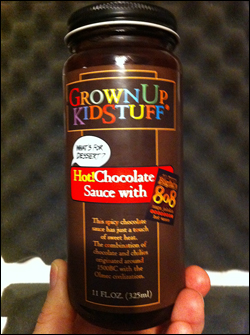 GrownUpKidStuff Hot Chocolate Sauce