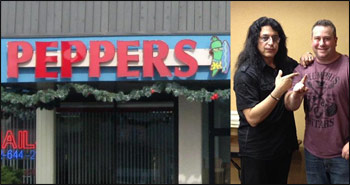 Special Event at Peppers with Rippin' Red and Twisted Sister's Eddie Ojeda