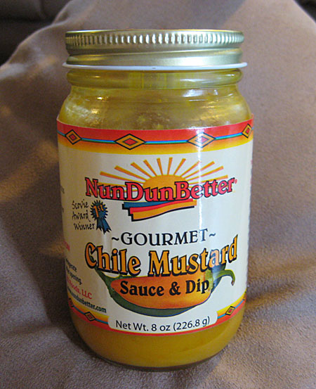 NunDunBetter Gourmet Chile Mustard Sauce and Dip