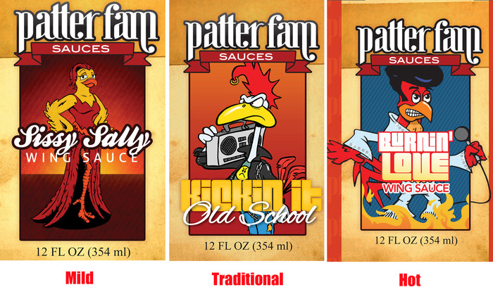 Patter Fams Starts Kickstarter Campaign For New Wing Sauces