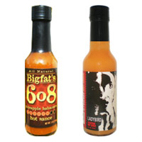 Ultimate Hot Sauce Showdown - First Round - Bigfat's 608 Pineapple Habanero Hot Sauce VS. Ladybird & Friends Ladybird Hot Sauce