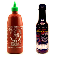 Huy Fong Sriracha VS. Dragon's Blood Elixir Unique Destiny Sauce