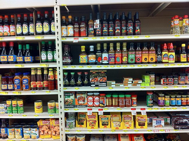 All the Spicy Food Found in My Local Supermarket - A Photo Documentation