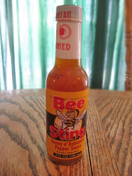 Bee Sting Honey n' Habanero Pepper Sauce