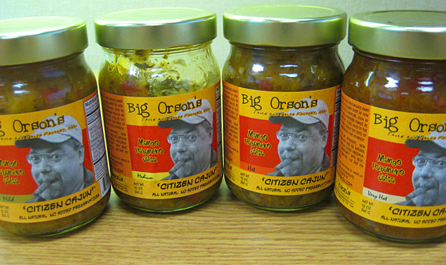 Big Orson's Citizen Cajun Mango Habanero Salsas