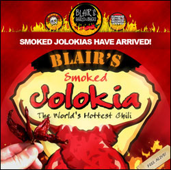 Blair's Introduces Smoked Jolokias