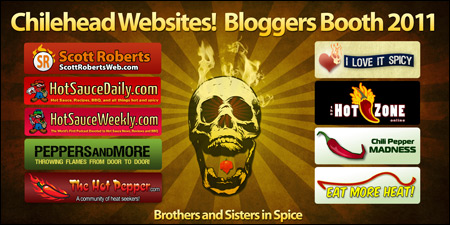 2011 Bloggers Booth Banner from Jungle Jim's Weekend of Fire