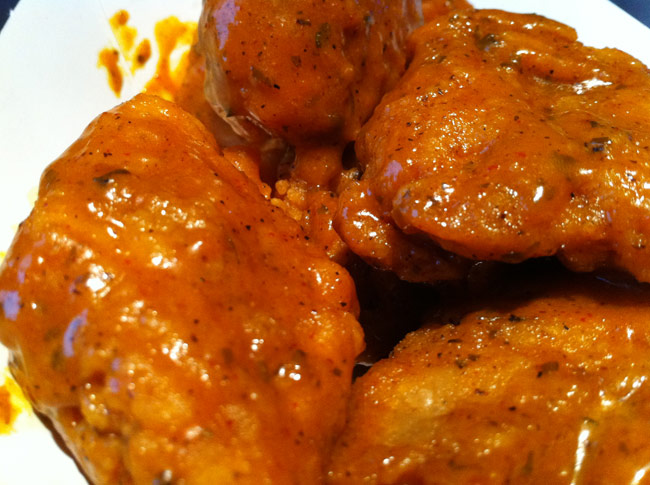 Buffalo Wild Wings Thai Curry Wings