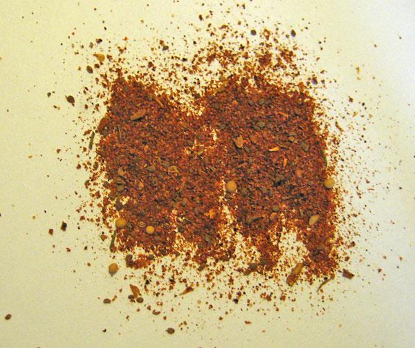 Charles Vergos' Rendezvous Famous Seasoning - the dry rub close-up