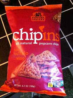 Chip'Ins Hot Buffalo Wing Popcorn Chips