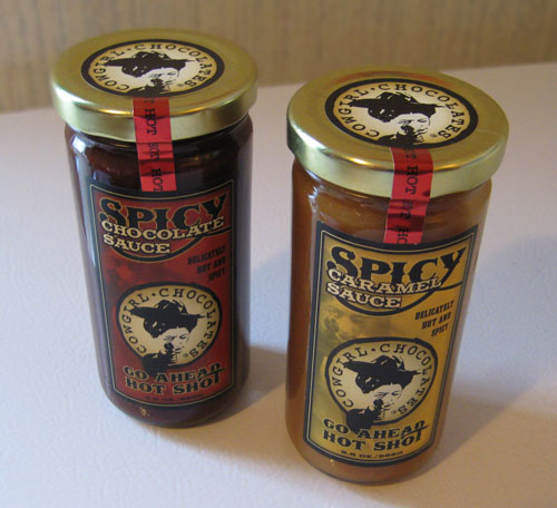 Cow Girl Chocolates Spicy Dessert Topping Sauces