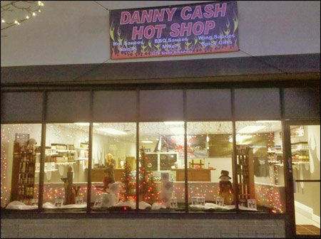 Danny Cash to Open Retail Hot Sauce Shop