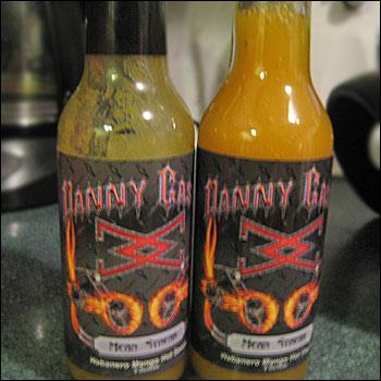 Danny Cash's Mean Streak Habanero Mango Hot Sauce