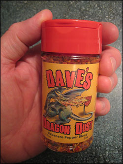 Dave's Dragon Dust Habanero Pepper Blend