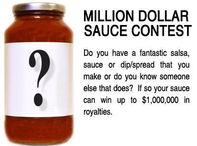 Dave's Gourmet Introduces Million Dollar Sauce Contest