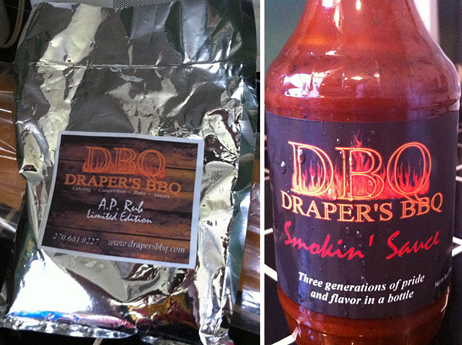 Review - Draper's BBQ Smokin' Sauce and All Purpose Rub