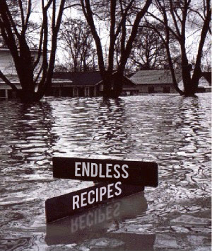 The endless flood of recipes