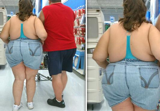 Slow, lumbering people - Things I Hate About Wal-Mart
