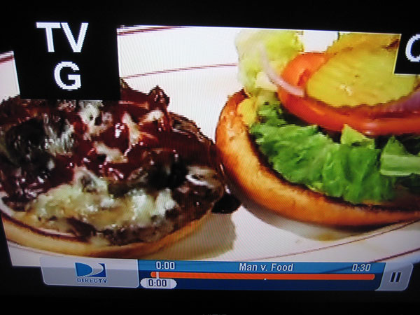 Four Horsemen Burger on Man v. Food
