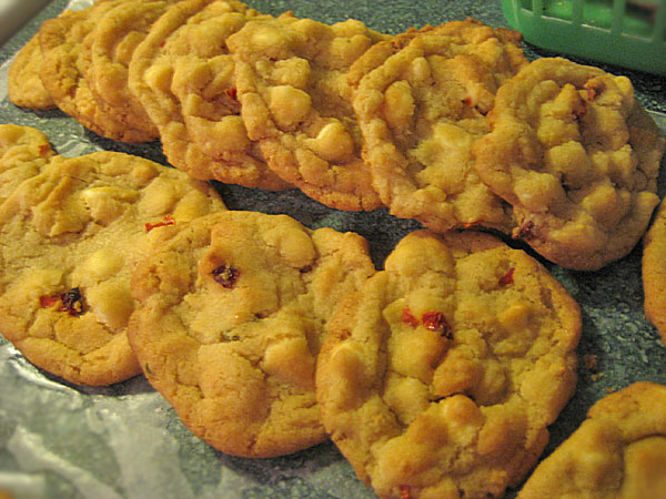 Habanero White Chocolate Chip Cookies