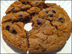 Heartbreaking Dawns Fountain and Fairfax Ghost Pepper Chocolate Chip Cookie