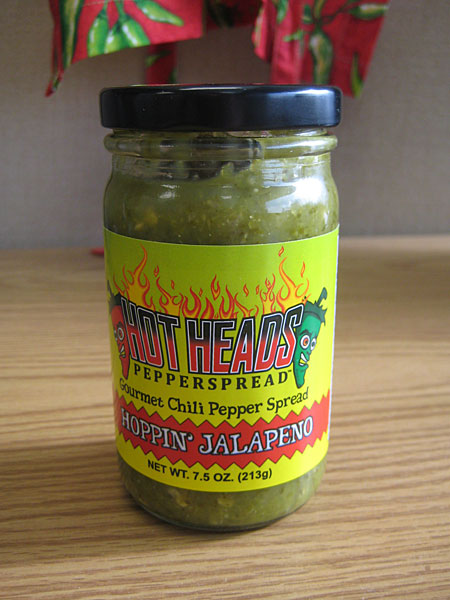 Hot Heads Pepperspread Hoppin Jalapeno Spread