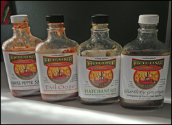 Hot Line Pepper Products Hot Sauces