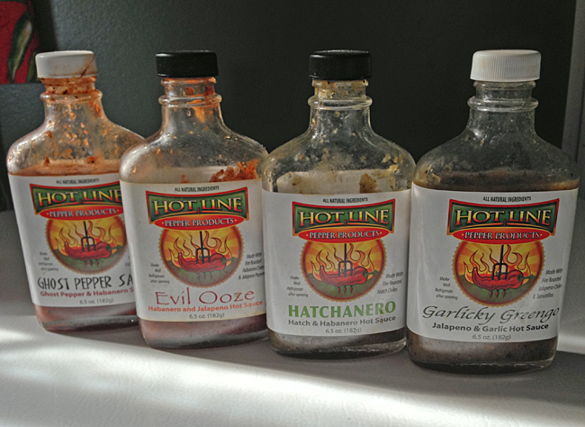 Review - Hot Line Pepper Products Hot Sauces
