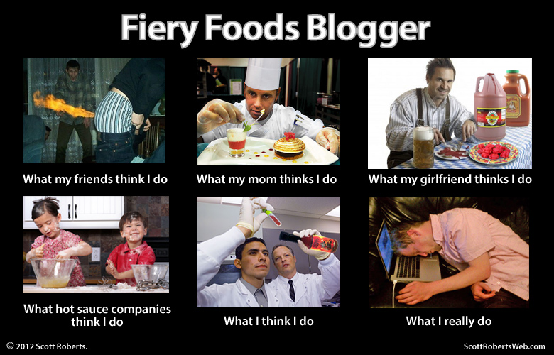 Scott Roberts - Fiery Foods Blogger