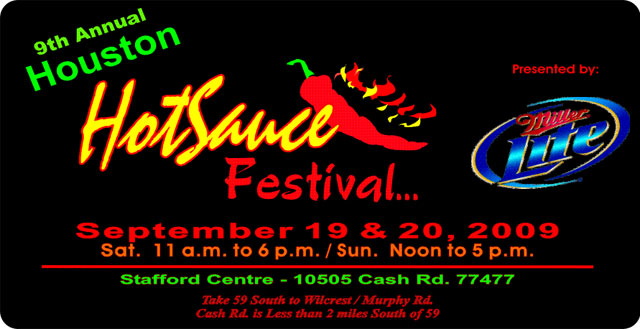 Houston Hot Sauce Festival 2009
