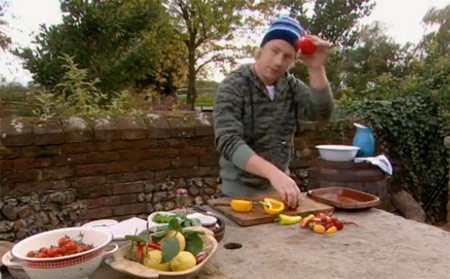 Peppers and Chillies Featured on Jamie at Home Season One