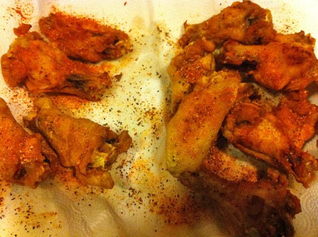 Kramer's Wing Rubs