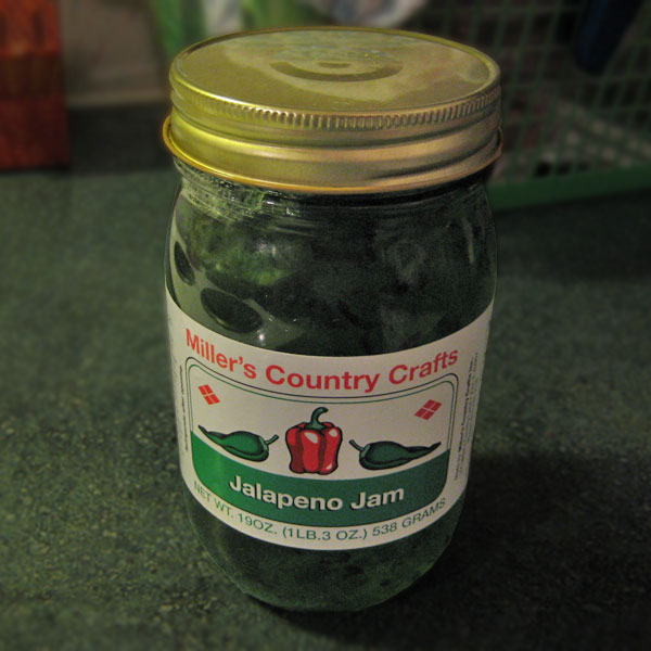 Miller's Country Crafts Jalapeño Jam