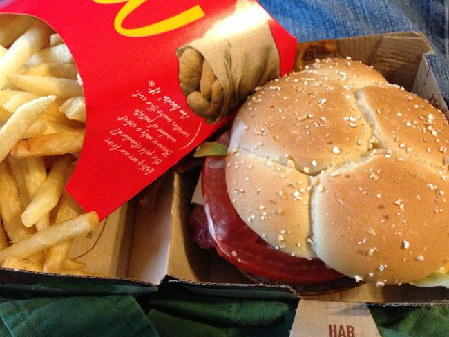 McDonald's Bacon Habanero Ranch Quarter Pounder Burger Review