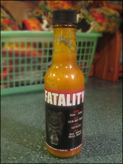Mild to Wild Fatality Hot Sauce