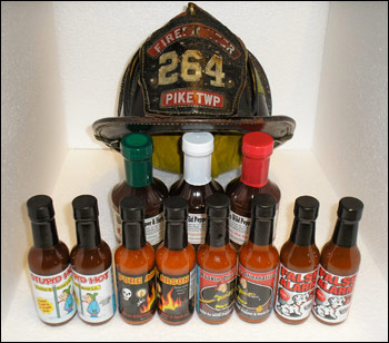 Mild to Wild Pepper Company Sauces