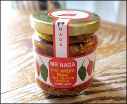 Mr. Naga Hot Pepper Pickle