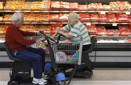 Old People at Wal-Mart
