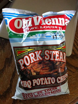 Old Vienna Pork Steak-Flavored Potato Chips