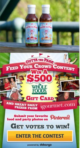 Feed Your Crowd Contest From Outta the Park BBQ Sauce