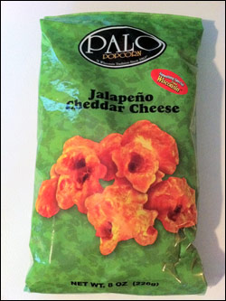 Palo Popcorn Jalapeno Cheddar Cheese Popcorn