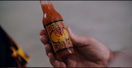 Devil's Crotch Hot Sauce in Paul Blart: Mall Cop