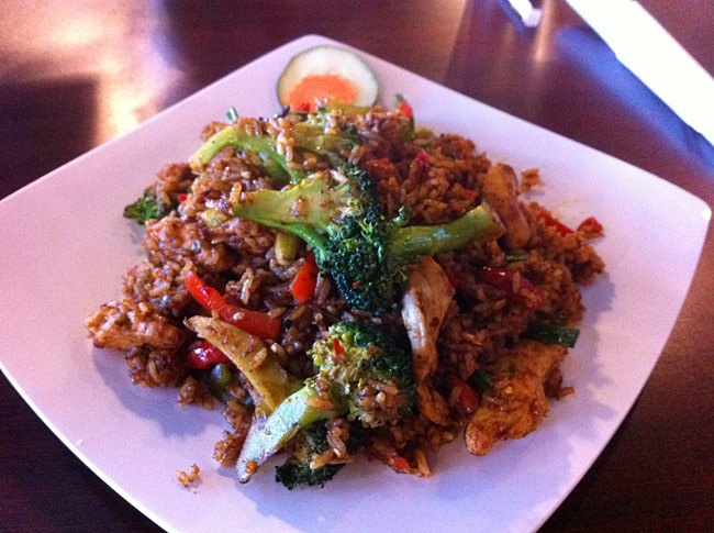 The Level 100 Spicy Thai Chicken Fried Rice