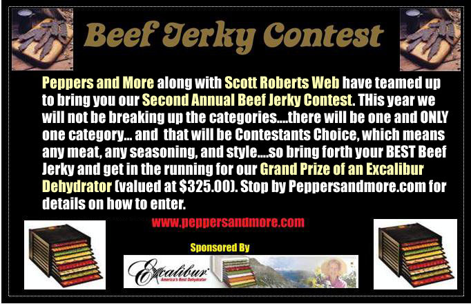 Second Annual Jerky Contest