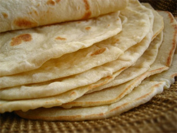 Recipe - Home Made Flour Tortillas