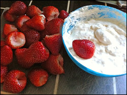 Recipe - Scott's Cream Cheese Marshmallow Fruit Dip