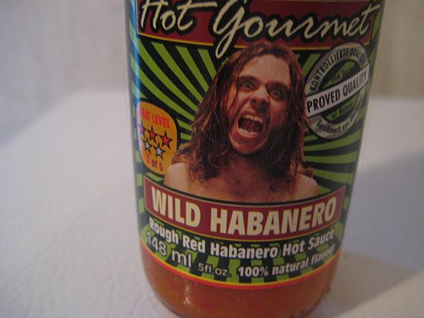 Scovilla Hot Gourmet Wild Habanero Hot Sauce